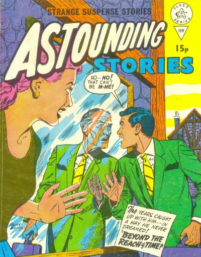 Cover for Astounding Stories (Alan Class, 1966 series) #119