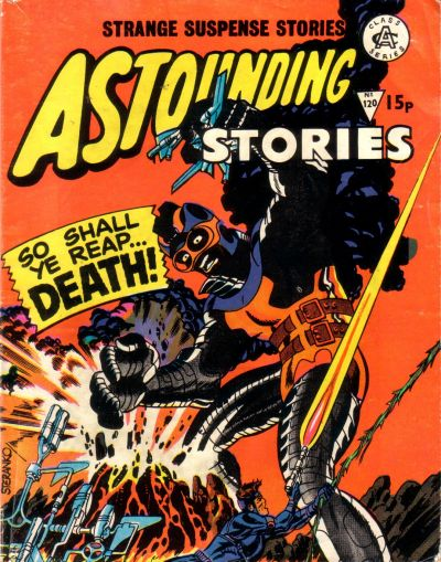 Cover for Astounding Stories (Alan Class, 1966 series) #120