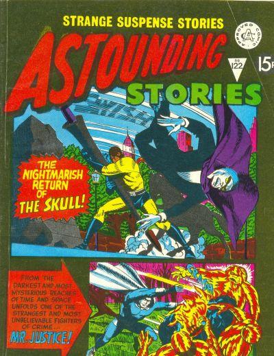 Cover for Astounding Stories (Alan Class, 1966 series) #122