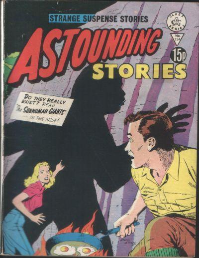 Cover for Astounding Stories (Alan Class, 1966 series) #134