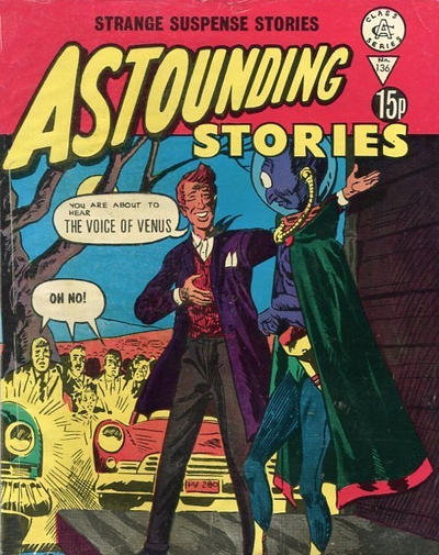 Cover for Astounding Stories (Alan Class, 1966 series) #136