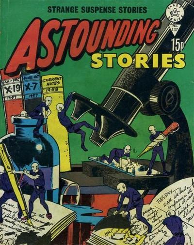 Cover for Astounding Stories (Alan Class, 1966 series) #137