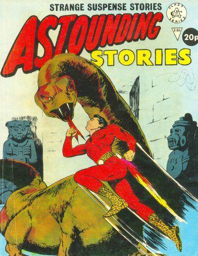 Cover for Astounding Stories (Alan Class, 1966 series) #146