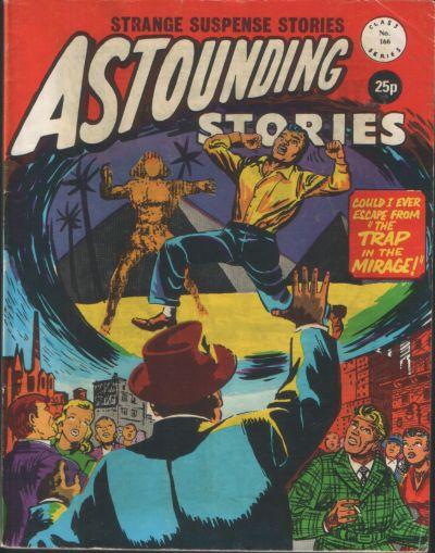 Cover for Astounding Stories (Alan Class, 1966 series) #166