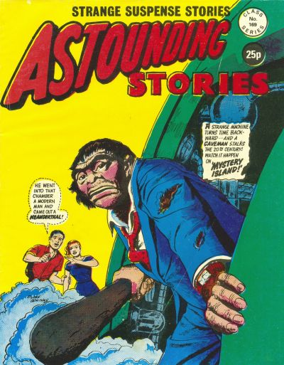 Cover for Astounding Stories (Alan Class, 1966 series) #169