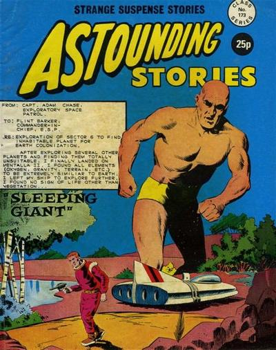 Cover for Astounding Stories (Alan Class, 1966 series) #173