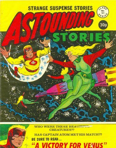 Cover for Astounding Stories (Alan Class, 1966 series) #181