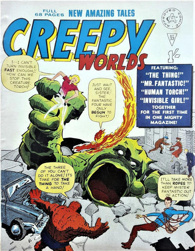 Cover for Creepy Worlds (Alan Class, 1962 series) #32
