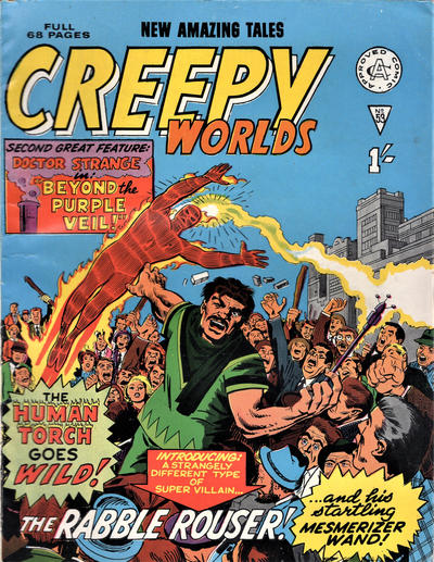 Cover for Creepy Worlds (Alan Class, 1962 series) #53