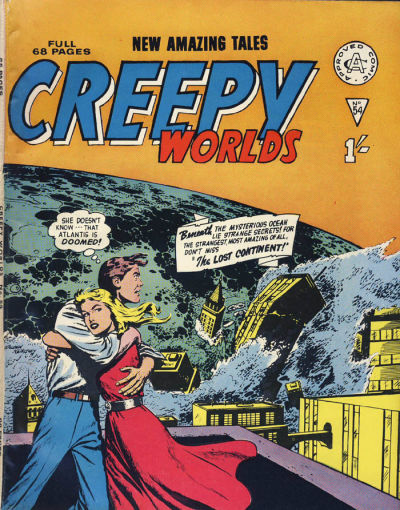 Cover for Creepy Worlds (Alan Class, 1962 series) #54