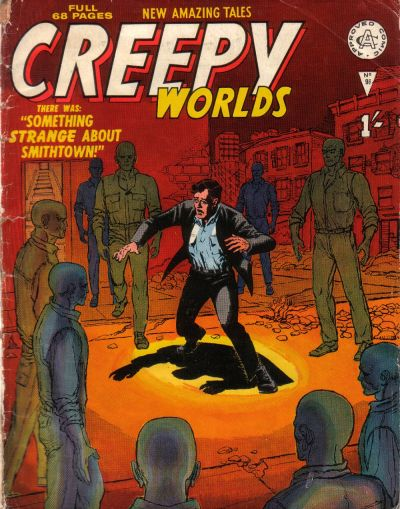 Cover for Creepy Worlds (Alan Class, 1962 series) #96