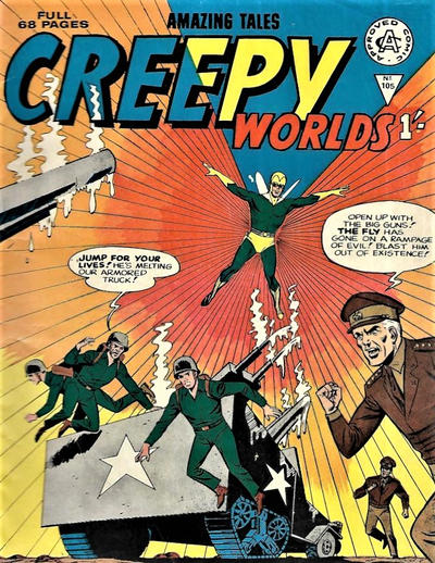 Cover for Creepy Worlds (Alan Class, 1962 series) #105
