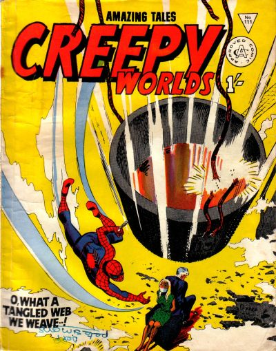 Cover for Creepy Worlds (Alan Class, 1962 series) #111