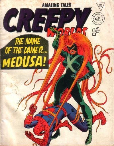Cover for Creepy Worlds (Alan Class, 1962 series) #112