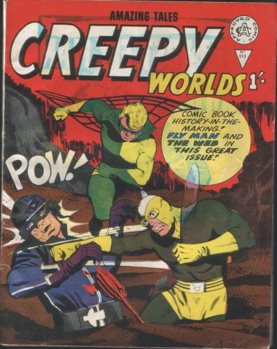 Cover for Creepy Worlds (Alan Class, 1962 series) #113