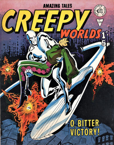 Cover for Creepy Worlds (Alan Class, 1962 series) #120