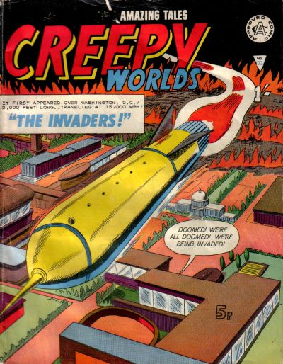 Cover for Creepy Worlds (Alan Class, 1962 series) #122