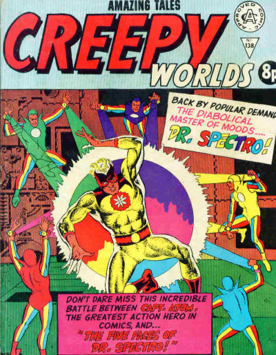 Cover for Creepy Worlds (Alan Class, 1962 series) #138