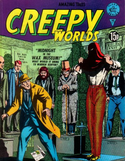 Cover for Creepy Worlds (Alan Class, 1962 series) #177