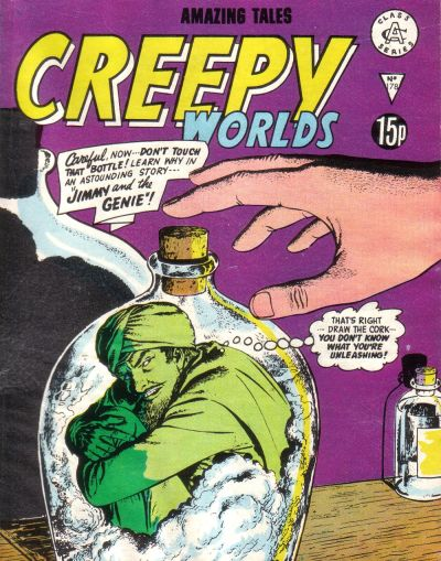 Cover for Creepy Worlds (Alan Class, 1962 series) #178