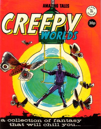 Cover for Creepy Worlds (Alan Class, 1962 series) #233