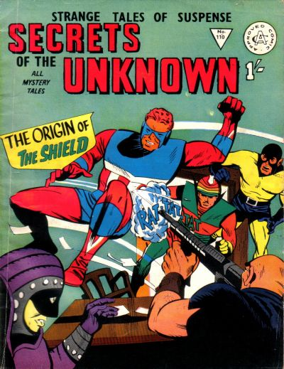 Cover for Secrets of the Unknown (Alan Class, 1962 series) #110