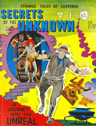 Cover for Secrets of the Unknown (Alan Class, 1962 series) #120
