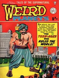 Cover Thumbnail for Weird Planets (Alan Class, 1962 series) #8