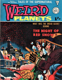 Cover Thumbnail for Weird Planets (Alan Class, 1962 series) #10