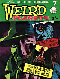 Cover Thumbnail for Weird Planets (Alan Class, 1962 series) #14