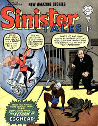 Cover for Sinister Tales (Alan Class, 1964 series) #35