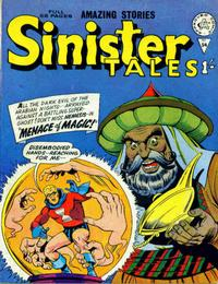 Cover for Sinister Tales (Alan Class, 1964 series) #54