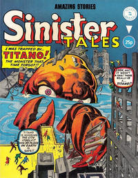 Cover Thumbnail for Sinister Tales (Alan Class, 1964 series) #196