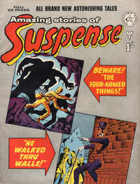 Cover Thumbnail for Amazing Stories of Suspense (Alan Class, 1963 series) #19