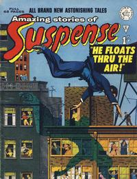 Cover Thumbnail for Amazing Stories of Suspense (Alan Class, 1963 series) #21