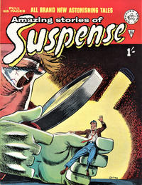 Cover Thumbnail for Amazing Stories of Suspense (Alan Class, 1963 series) #23