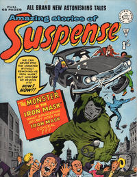 Cover for Amazing Stories of Suspense (Alan Class, 1963 series) #28