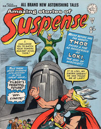 Cover Thumbnail for Amazing Stories of Suspense (Alan Class, 1963 series) #29