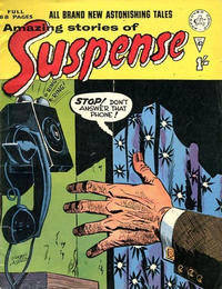 Cover Thumbnail for Amazing Stories of Suspense (Alan Class, 1963 series) #42