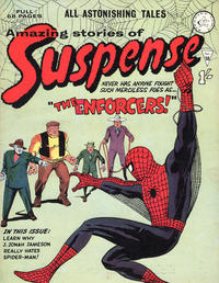 Cover Thumbnail for Amazing Stories of Suspense (Alan Class, 1963 series) #58