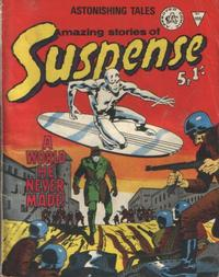 Cover Thumbnail for Amazing Stories of Suspense (Alan Class, 1963 series) #108
