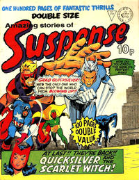 Cover Thumbnail for Amazing Stories of Suspense (Alan Class, 1963 series) #117