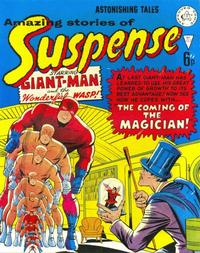 Cover Thumbnail for Amazing Stories of Suspense (Alan Class, 1963 series) #122
