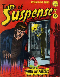 Cover Thumbnail for Amazing Stories of Suspense (Alan Class, 1963 series) #134