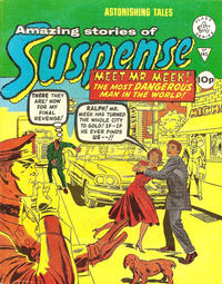 Cover Thumbnail for Amazing Stories of Suspense (Alan Class, 1963 series) #145