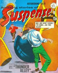 Cover Thumbnail for Amazing Stories of Suspense (Alan Class, 1963 series) #163
