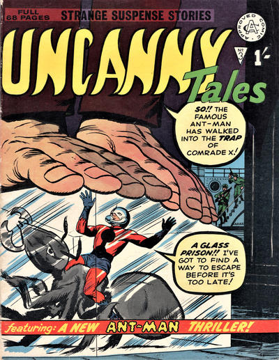 Cover for Uncanny Tales (Alan Class, 1963 series) #3