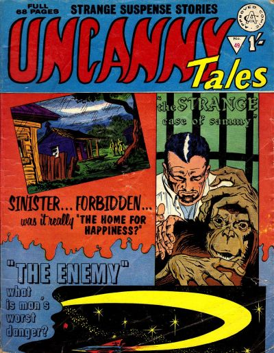 Cover for Uncanny Tales (Alan Class, 1963 series) #49