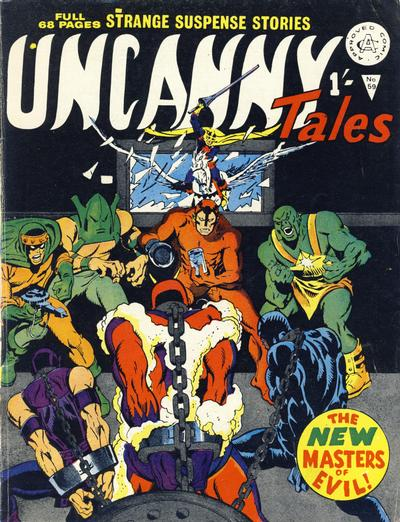 Cover for Uncanny Tales (Alan Class, 1963 series) #59