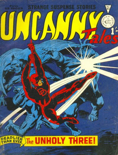 Cover for Uncanny Tales (Alan Class, 1963 series) #63